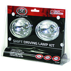 SCA Driving Light Kit - 55W, Shift, 80mm, Oval, 2 Pack, , scanz_hi-res