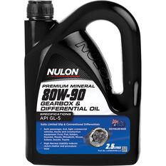 Nulon Gear Oil 80W-90 2.5 Litre, , scanz_hi-res