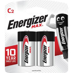 Energizer Max C Batteries - 2 Pack, , scanz_hi-res