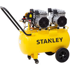 Stanley Air Compressor Silenced 2.75HP 50 Litre tank, , scanz_hi-res