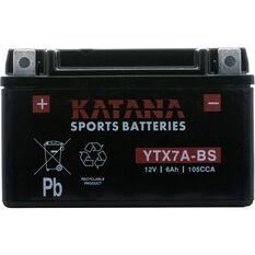 Katana Powersports Battery -  YTX7A-BS, , scanz_hi-res