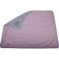 Cabin Crew Kids Travel Blanket - Pink & Grey, , scanz_hi-res