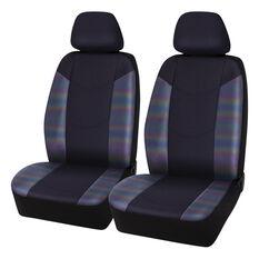 SCA Hologram Mesh Seat Covers - Black, Adjustable Headrests, Airbag compatible, , scanz_hi-res