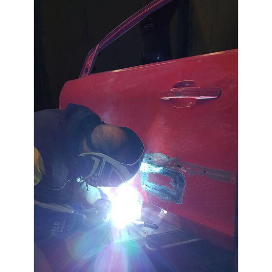 Cigweld Adjustable Auto Shade Welding Helmet - Shade 9-13, Blue, , scanz_hi-res