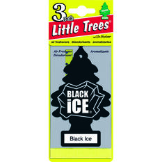 Little Trees Air Freshener - Black Ice, 3 Pack, , scanz_hi-res