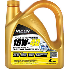 Nulon Full Synthetic Hi-Tech Fast Flowing Engine Oil 10W-40 4 Litre, , scanz_hi-res