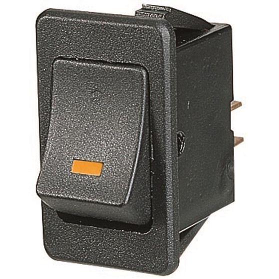 SCA Switch - Rocker, On / Off, Amber LED, , scanz_hi-res