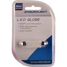 Enduralight Interior Globe 41MM Festoon LED White, , scanz_hi-res