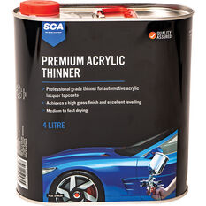 SCA Premium Acrylic Thinner 4 Litre, , scanz_hi-res