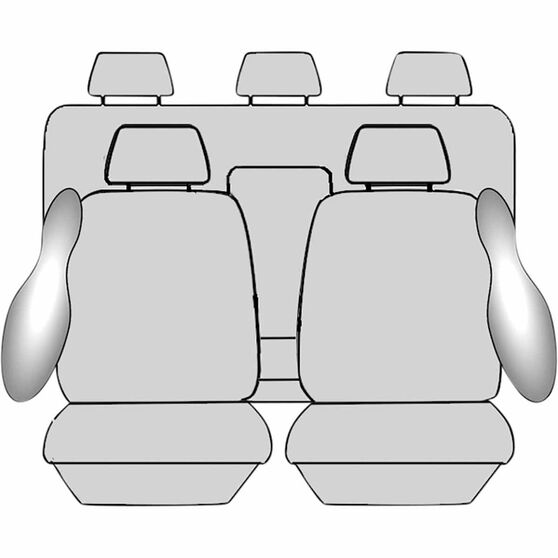 Ilana Imperial Tailor Made Pack for Ford Ranger PX MKII 06/15+, , scanz_hi-res
