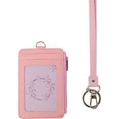 Lanyard - Double Sided, Card Colder, Zip Purse, Pink, , scanz_hi-res