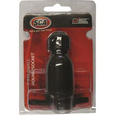 SCA Trailer Socket, Plastic - Small Round, 7 Pin, , scanz_hi-res