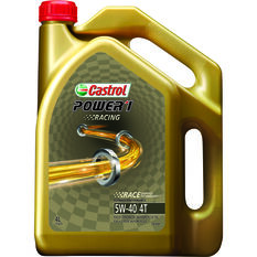 Castrol Power 1 Racing Motorcycle Oil - 5W-40, 4 Litre, , scanz_hi-res
