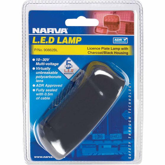 Narva Licence Plate Lamp - LED, White, 10-30V, , scanz_hi-res