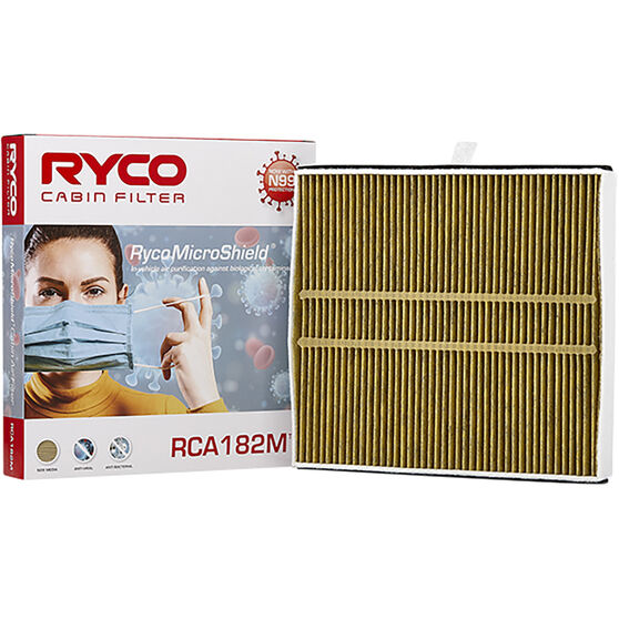 Ryco Cabin Air Filter N99 MicroShield RCA182M, , scanz_hi-res