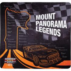 Bathurst Travel Blanket - Mount Panorama Past Legends, 1.5m x 1.5m, , scanz_hi-res