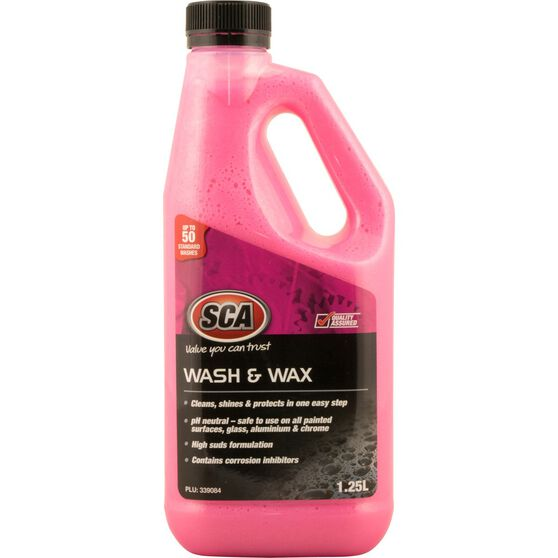 SCA Concentrate Wash & Wax - 1.25 Litre, , scanz_hi-res