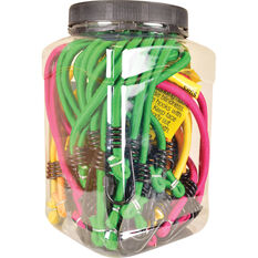 SCA Bungee Cord - Multi, 18 Pack, , scanz_hi-res