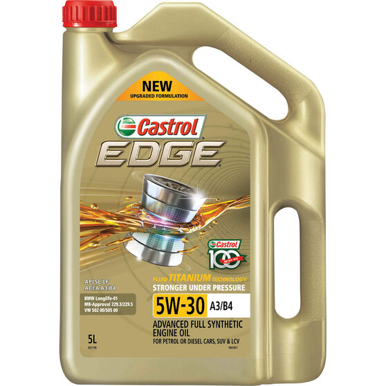Castrol Edge Engine Oil - 5W-30 5 Litre, , scanz_hi-res
