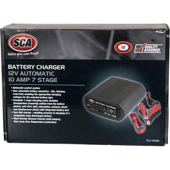 Battery Charger - 7 Stage, 12 Volt, 10 Amp, , scanz_hi-res