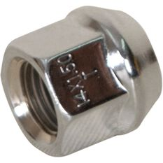 Wheel Nuts, Tapered Open End, CHrome - 14X1.5MM, , scanz_hi-res