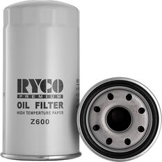 Ryco Oil Filter Z600, , scanz_hi-res