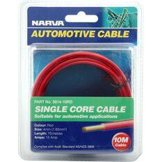 Automotive Cable - Single Core, 10 Metres, 15 Amp, 4mm, , scanz_hi-res
