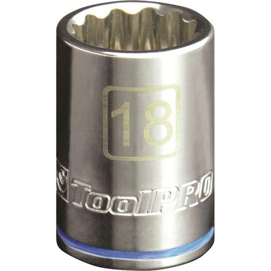 ToolPRO Single Socket - 1 / 2 inch Drive, 18mm, , scanz_hi-res