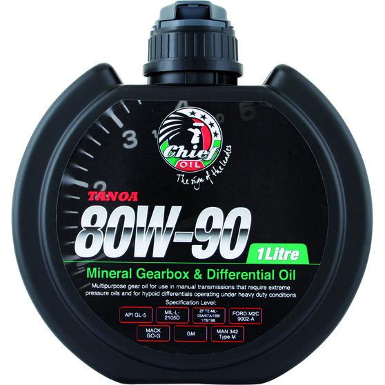 Chief Tanoa Gear Oil - 80W-90, 1 Litre, , scanz_hi-res