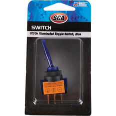 SCA Switch - Toggle, Off / On, Illuminated, Blue, , scanz_hi-res