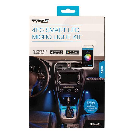 Type S Interior LED 4pc Plug & Glow Micro Kit, , scanz_hi-res