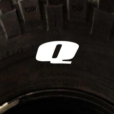 Tire Stickers - Letter Q, , scanz_hi-res