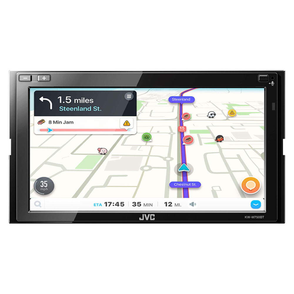 """JVC 6.8"""" Carplay And Android Auto Media Player"""