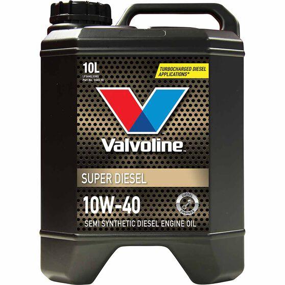 Valvoline Super Diesel Engine Oil 10W-40 10 Litre, , scanz_hi-res