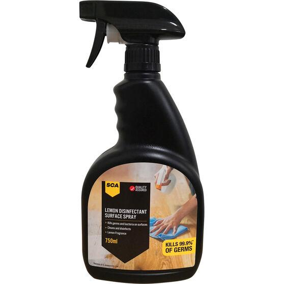 SCA Lemon Disinfectant Surface Spray - 750mL, , scanz_hi-res