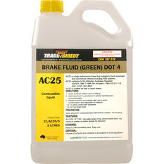 Trade Direct Brake Fluid DOT 4 5 Litre, , scanz_hi-res
