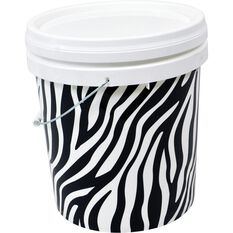 Design Pail Zebra- 15L, , scanz_hi-res