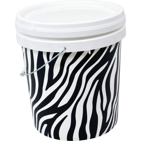 Design Pail Zebra- 15L, , scanz_hi-res