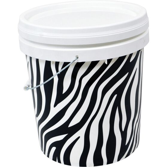SCA Design Pail - Zebra, 15 Litre, , scanz_hi-res