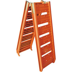SCA Loading Ramp Aluminium Orange Single 220kg, , scanz_hi-res
