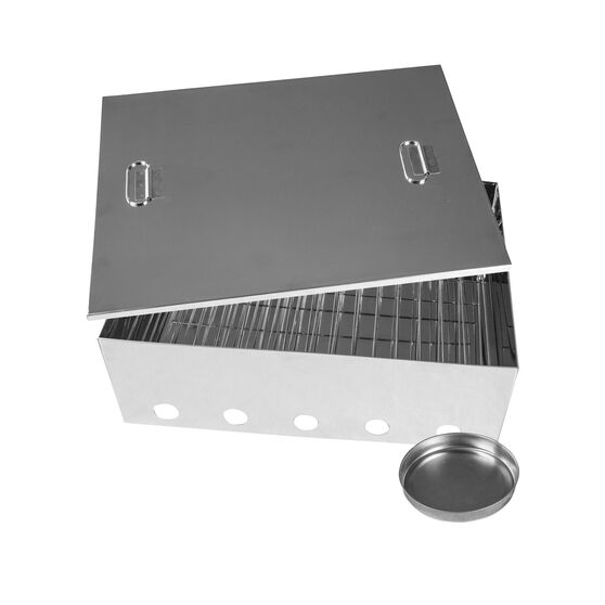 Portable Smoker - Large, Stainless Steel, , scanz_hi-res