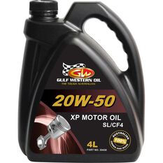 Gulf Western XP Engine Oil 20W-50 4 Litre, , scanz_hi-res