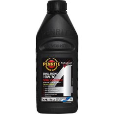 Small Engine 4 Stroke Engine Oil - 10W-30, 1 Litre, , scanz_hi-res