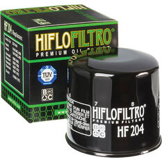 HifloFiltro Motorcycle Oil Filter HF204, , scanz_hi-res