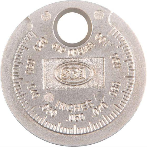 SCA Spark Plug Gap Gauge - Coin