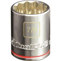 "ToolPRO Single Socket 1/2"" Drive 7/8"", , scanz_hi-res"