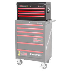 ToolPro Tool Cabinet, 4 Drawer, Top Chest - Black, 26 inch, , scanz_hi-res