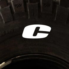 Tire Stickers - Letter C, , scanz_hi-res