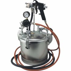 Blackridge Air Spray Gun - Siphon Feed, Paint Tank 10 Litre, , scanz_hi-res