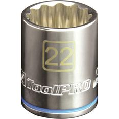 ToolPRO Single Socket - 1 / 2 inch Drive, 22mm, , scanz_hi-res